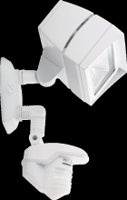 RAB Lighting STL3FFLED18NW - LSTEALTH FFLED18 18W NEUTRAL LED WITH STL360 SENSOR WHITE