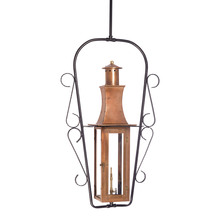 ELK Lighting 7912-WP - Maryville Outdoor Gas Ceiling Lantern In Aged Co