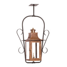 ELK Lighting 7916-WP - Maryville Outdoor Gas Ceiling Lantern In Aged Co