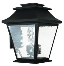 Livex Lighting 20245-04 - 5 Light Black Outdoor Wall Lantern
