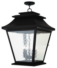 Livex Lighting 20247-07 - 5 Light Bronze Outdoor Chain Lantern