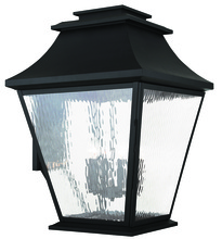 Livex Lighting 20251-04 - 6 Light Black Outdoor Wall Lantern
