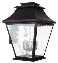 Livex Lighting 20251-07 - 6 Light Bronze Outdoor Wall Lantern