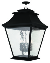Livex Lighting 20253-04 - 6 Light Black Outdoor Chain Lantern