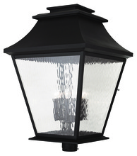 Livex Lighting 20254-07 - 6 Light Bronze Outdoor Post Lantern