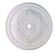 Livex Lighting 8229-03 - White Ceiling Medallion