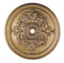 Livex Lighting 8229-65 - Vintage Gold Leaf Ceiling Medallion