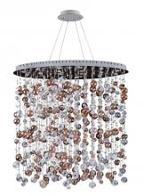 Kalco Allegri 11149-010-FR001 - Rubens 36 Inch x 59 Inch Oval Convertible/Round Pendant or Flush Mount