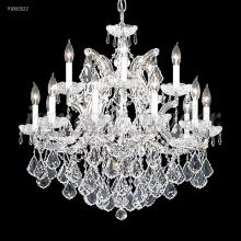 James R Moder 91800GL2X - Maria Theresa 15 Arm Chandelier