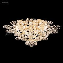 James R Moder 94455G00 - Florale Collection Flush Mount