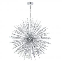 Eglo US 31468A - 50x10W Pendant w/ Chrome Finish & Clear Crystal Spheres