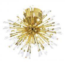 Eglo US 31512A - 16x10W Ceiling Light w/ Gold Plated  Finish & Clear Crystal Spheres