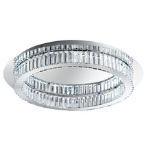 Eglo US 39014A - 1x36W LED Ceiling Light w/ Chrome Finish & Crystals