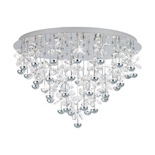 Eglo US 39246A - 43x2.1W LED Ceiling Light w/ Chrome Finish & Clear Crystals