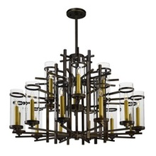Maxim 43749CLGB - Midtown LED-Multi-Tier Chandelier