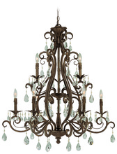 Craftmade 25629-FR - Englewood 9 Light Chandelier in French Roast