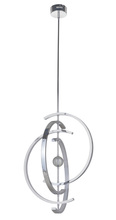 Craftmade 42722-CH-LED - Anello 4 Crescent LED Pendant in Chrome