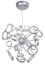 Craftmade 47126-CH-LED - Mira 26 Ring LED Adjustable Chandelier in Chrome