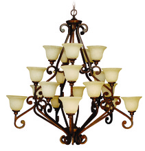 Craftmade 9152PR20 - Toscana 20 Light Chandelier in Peruvian Bronze