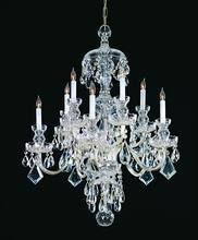 Crystorama 1140-CH-CL-MWP - Crystorama Traditional Crystal 10 Light Clear Crystal Chrome Chandelier III