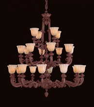 Crystorama 888-60-WH - Crystorama 24 Light French White Chandelier