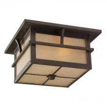 Sea Gull 78880-51 - Two Light Outdoor Ceiling Flush Mount