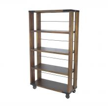 Sterling Industries 71051 - Penn Shelving Unit In Farmhouse Stain - Medium