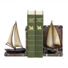 Sterling Industries 91-3907 - Sailboat Bookends - Pair