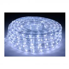American Lighting LR-LED-CW-75 - 75 Foot Cool White 6400 Kelvin LED Flexible Rope Light Kit with Mounting Clips