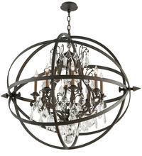Troy F2998 - BYRON 8LT CHANDELIER EXTRA LARGE