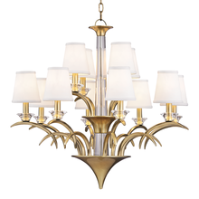 Hudson Valley 3199-AGB - 12 Light Chandelier