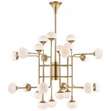Hudson Valley 4724-AGB - 24 Light Chandelier