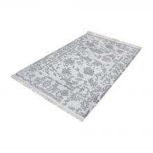 Dimond 8905-270 - Harappa Handknotted Wool Rug In Grey - 3ft x 5ft