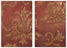 RED & GOLD RELIEF