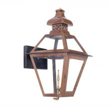 ELK Lighting 7917-WP - Bayou Outdoor Gas Wall Lantern Aged Copper